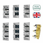 CONCEALED THERMOSTATIC SHOWER MIXER VALVE TAP CHROME SOLID BRASS 1 OR 2 OR 3 WAY
