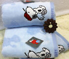 Brand Snoopy cotton towels cartoon super soft cotton washcloths towel SN1001WH