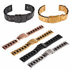 Men Flip Stainless Steel Metal Belt Watch Band Strap Watchband 18/20/22/24mm image