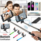 Bluetooth Extendable Handheld Rear Mirror Selfie Stick Monopod For iPhone Phone