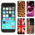 Hot Hybrid Printed Rubber Gel Silicone Back Skin Case For Apple iPhone 6 6G F10