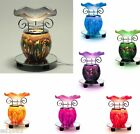 Mixed Glass Color Scented Oil Tart Warmer Burner Night Lamp Control of the Light