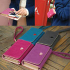 Lady Envelope Wallet Shield Cell Phone Case Cover For Samsung galaxy S3 S4 S5 US