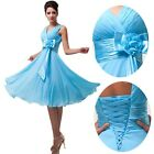 BIG SALE~2015 Party Ball Gown Evening Bridesmaid Cocktail Short Mini Prom Dress