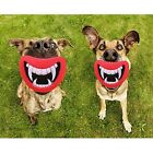 Hot Funny Pet Dog Teeth Silicon Toy Puppy Chew Sound Novelty Dogs Play Toys JJ