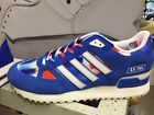 New Adidas ZX750 ZX 750 Blue Red White Men Sneakers Shoes B34327 UK6.5-10