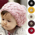 New Cute Knitted Cotton Crochet Beanie Hat Cap For Baby Kids Toddler Boys Girls