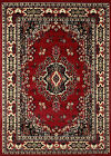 "Large Traditional 9x12 Oriental Area Rug Persian Style Carpet -Actual 9'2""x12'5"""