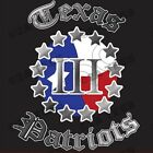 """TEXAS PATRIOTS"" T-Shirt - SIZE LARGE - 2nd Amendment - AR15 - AK47 DALLAS WACO"