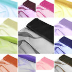 "12"" x 30 feet CHIFFON FABRIC DIY Wedding Party Decorations Crafts Sewing Drapes"