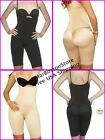 Vedette Post-Surgery Full Body Shaper Mid-Leg, Fajas Reductoras Colombianas