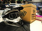 New 2015 THH TX12 Black Helmet Thor Splat Goggles S M L XL Motocross Enduro Road