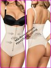Control Body-Thong Shaper With Zipper, Firm Compression, Faja Colombiana 65