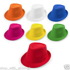 10 x Ladies & Mens Pamama Hat - Summer Fedora Trilby Beach Unisex Gangster Cap