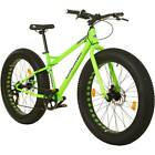 "17"" Coyote Fatman Fat Bike FAT TYRE 26"" x 4.0"" MTB Fahrrad Mountainbike SHIMANO"