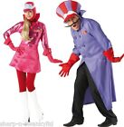 Couples Fancy Dress Mens Dick Dastardly Ladies Penelope Pitstop Costumes Outfits