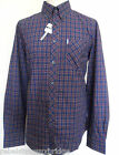 BEN SHERMAN Men's Long Sleeved B/D Tartan Check Shirt MA10848 Blue Size: S - XXL