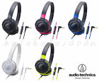 audio-technica  Closed Back headphones ATH-S100iS with Mic For Smartphone  JAPAN