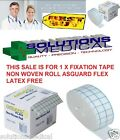 FIXATION TAPE NON WOVEN ROLL ASGUARD FLEX LATEX FREE VARIOUS SIZES