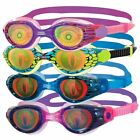 Zoggs Sea Demon Hologram Junior Swimming Goggles - Blue / Pink