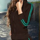 Chamela 14307 Women's Sexy Sporty Jacket Color Brown Talla S, reg.$76.85