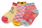 Kids Girls Panda Bunny Summer Ankle Socks Non-slip Pack of 3 or 6 (Age 2 to 6)