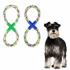 Cotton Braided Teeth Rope Chew Knot Playing Fetch Funny Toy for Pet Puppy Dog