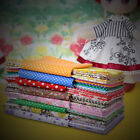 Top Quality 7 PCS Assorted Pre Cut Charm Cotton Fabric Fat Quarters 50x50cm