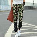 Mens Boy Camouflage Harem Slim Dance Jogger Sport Feet Pants Casual Trousers