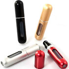 3 × 5ml Mini Refillable Travel Portable Perfume Atomizer Bottle Spray Pump Case