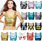 Tunic Sexy Crop Top Vest Midriff Shirt Blouse Tank Tops Cami 15 Color New EN24H