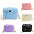 New Women Messenger Bags Rivet Chain Casual Shoulder Bag Leather Crossbody Сумки