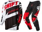 NEW 2016 SHIFT RACING ASSAULT MX DIRT BIKE GEAR COMBO BLACK/ WHITE ALL SIZES