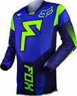 NEW 2015 FOX RACING 360 FRANCHISE MX DIRT BIKE OFFROAD JERSEY BLUE ALL SIZES