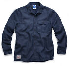 Scruffs Mens Vintage Denim Lined Work Shirt Size MED-XXL