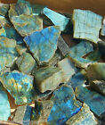 Natural Labradorite. Polished on one side. 1 Piece. Please select size.