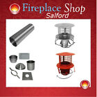 "Flexible flue liner complete installation kit woodburning multi stoves 5"" 6 7 8"