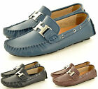 Mens Genuine Leather Casual Loafers Slip On Driving Shoes Available UK Size 6-11