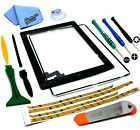 Screen Glass Digitizer replacement for iPad 2 A1395 A1397 A1396 Black