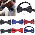 Men's Fashion Punk Skul Tuxedo  Bow Tie Party Bowtie Necktie Neckwear Adjustable