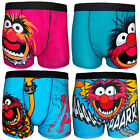 The Muppets Animal Official Gift 1 Pair Mens Boxer Shorts Blue (RRP £9.99!)