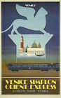 ORIENT EXPRESS London..Paris..Venice Vintage Travel/Rail Poster 3 A1A2A3A4 Sizes