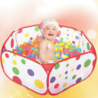 Portable Kid Foldable Indoor Outdoor Play Safety Ocean Ball Pit Pool Holder Tent