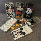 New Striae Cartoon Mickey Mouse Back Case cover For Apple iphone 5S/5G/6G/6P