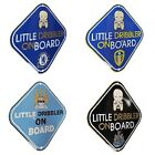 OFFICIAL FOOTBALL CLUB - BABY ON BOARD SIGN - Car Hang Up Accessory (DRIBBLER)
