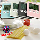 Magnetic Mini Digital Electronic Kitchen Cooking Alarm Timer LCD Display