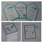 Handmade PEACOCK FEATHER stationery:TAGS & FAVOURS;5 designs,60 colours, any qty