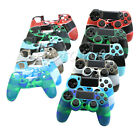 Camouflage Silicone Rubber Case Skin Grip Cover For PlayStation4 PS4 Controller