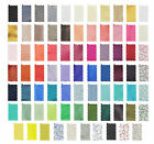 Fabric Swatches To Match Our Range Of Mens & Boys Cravats In Various Colours
