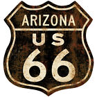 Route 66 Arizona Distressed Wall Decal Garage Vintage Style Decor